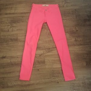 Hollister Pink Jeans